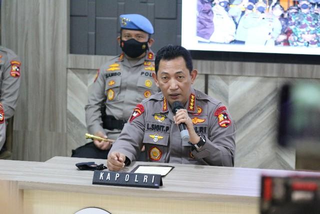 Pasca Bom Bunuh Diri, Polri Amankan 5 Bom Aktif dan Tangkap 13 Terduga Teroris