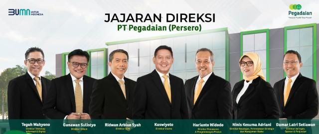 Menteri BUMN Angkat Ridwan Arbian Syah Jadi Direktur SDM Pegadaian