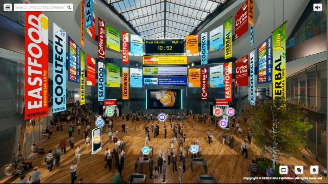 Krista Exhibitions Virtual Expo 2021 Hadirkan Enam Sektor Industri