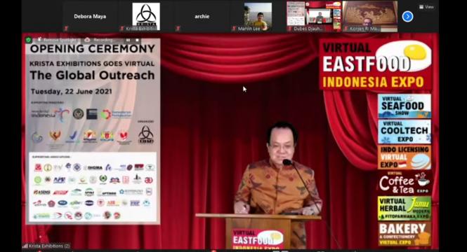 Krista Exhibitions Virtual Expo 2021 Dibuka, Targetkan 25 Ribu Pengunjung